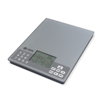 CDN® SD1106 11 Pound Digital Nutrition Scale