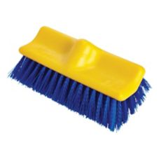"Rubbermaid Blue Poly Bi-Level 10"" Floor Scrub Brush"