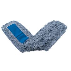 "Rubbermaid® FGK15700BL00 Kut-A-Way® Blue 48"" Dust Mop"