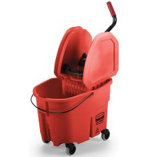 Rubbermaid® Red Mop, Bucket and Wringer Combo