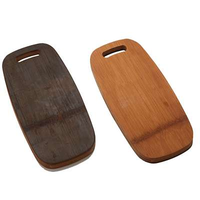 American Metalcraft Carbonized Bamboo Serving Board
