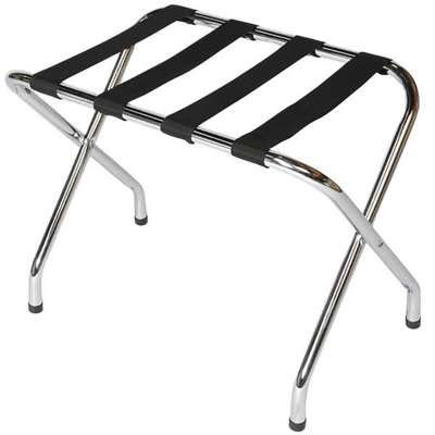 Central Specialties Chrome Luggage Rack