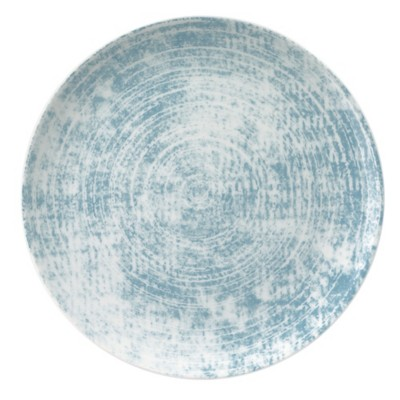 Schonwald 9331217-63072 Shabby Chic Blue 6.6 In. Coupe Plate - 12 / CS
