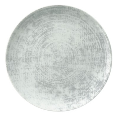 Schonwald 9331221-63070 Shabby Chic Gray 7.9 In. Coupe Plate - 12 / CS