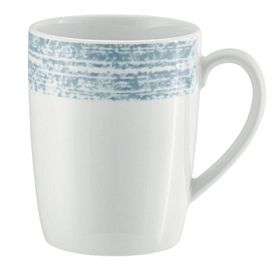 Schonwald 9015630-63072 Shabby Chic Blue 10.13 Ounce Mug - 6 / CS