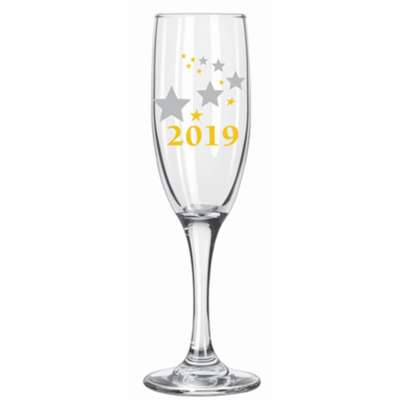 Libbey 3795/29449 2019 Holiday 6 Ounce Champagne Flute - 12 / CS