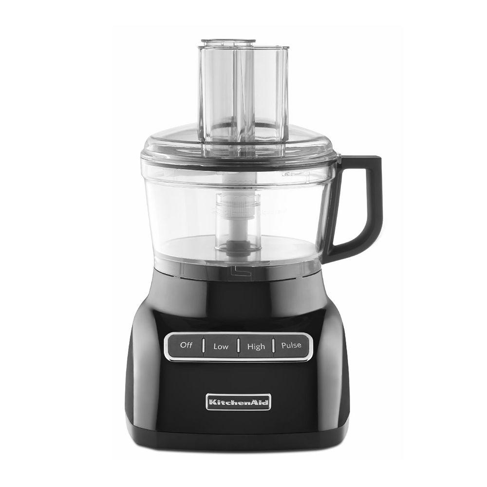 Kitchenaid 7 Cup Food Processor Black 3 Speed