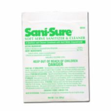 Diversey 90234 Sani-Sure Soft Serve Sanitizer And Cleaner - 100 / CS