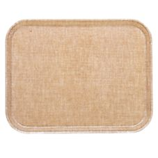Cambro 1014329 Linen Toffee 10-5/8 in. x 13-3/4 in. Camtray - 12  /CS