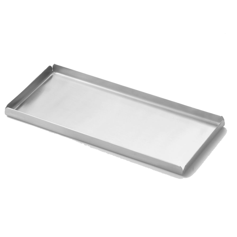 """American Metalcraft ST12 Stainless Steel 12"""" x 8.25"""" Tray"""