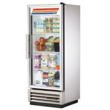 True® T-Series Reach-In Refrigerator w/ Glass Door, 12 Cubic Feet