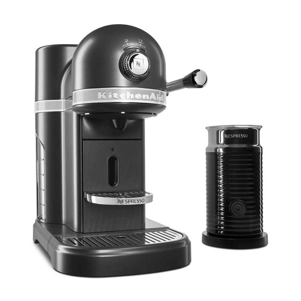 Kitchenaid Nespresso Espresso Maker with Milk Frother Bundle