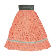 Continental A02702 Medium Orange Narrow Band Loop End Mop Head