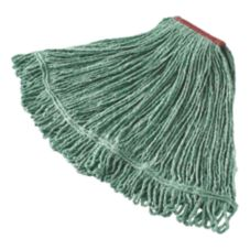 Rubbermaid Super Stitch® Large Green Blended Wet Mop Head