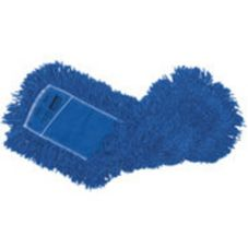 "Rubbermaid FGJ35700BL00 Blue Twisted Loop Synthetic 48"" Dust Mop"