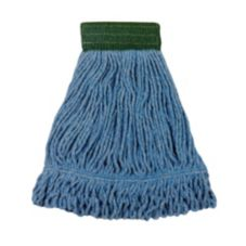 Continental Bulldog Large Blue Wide Band Blended Loop End Mop Head