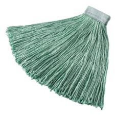 Rubbermaid Green Synthetic Blend Cut-End 24 oz Wet Mop