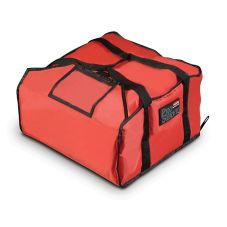 Rubbermaid PROSERVE® Large Red Pizza Delivery Bag