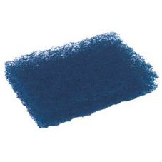 "Cellucap PP80 Blue 3-1/2"" x 5"" Pot / Pan Scrubber - 36 / CS"