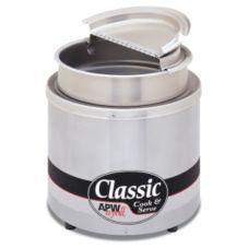 APW Wyott RCW-7-SP Classic 7 Qt. Countertop 120V Cooker / Warmer