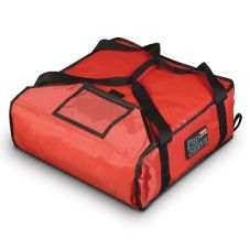Rubbermaid PROSERVE® Small Red Pizza Delivery Bag