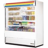 True® Vertical Air Curtain Merchandiser, 66 Cubic Ft