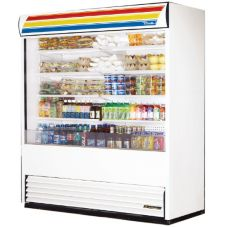 True® TAC-72 Vertical Air Curtain 66 Cu Ft Merchandiser