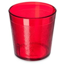Carlisle 552910 Stackable 10 Oz. Ruby Old Fashioned Tumbler - 72 / CS