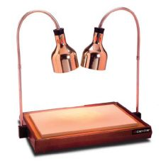 CresCor CSH-122-10PN-SG Countertop Carving Station with Heat Lamps