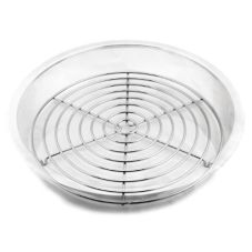 """Culinaire WG-101 S/S 12-1/2"""" Round Pan Grate"""