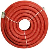 NoTrax® Red HD 50' Hot Water Hose