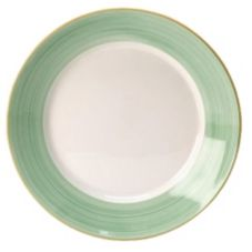 "Steelite 15290356 Rio Green 10-5/8"" Ultimate Bowl - 6 / CS"