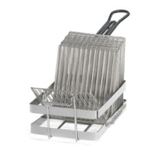 Tablecraft 41 Chrome Plated Tostada Fry Basket