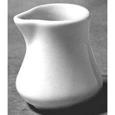 Diversified Ceramics DC200-W White 1.25 Oz. Carafe Creamer - 24 / CS