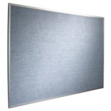 Marsh AF-304-0015 Vinyl Covered Blue Sky 3' x 4' Bulletin Board