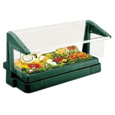 Cambro® BBR720519 Kentucky Green 6 Ft. 5 Pan Tabletop Salad Bar