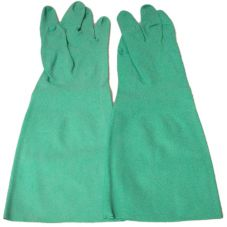 Wells Lamont Y8323M Green Medium Unsupported Nitrile Gloves - Pair