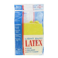 Ansell 188/185831 Large Yellow Latex Gloves - Dozen