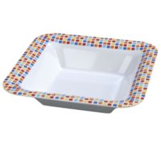 Carlisle® Displayware™ Palette Spanish Tile Square Bowl