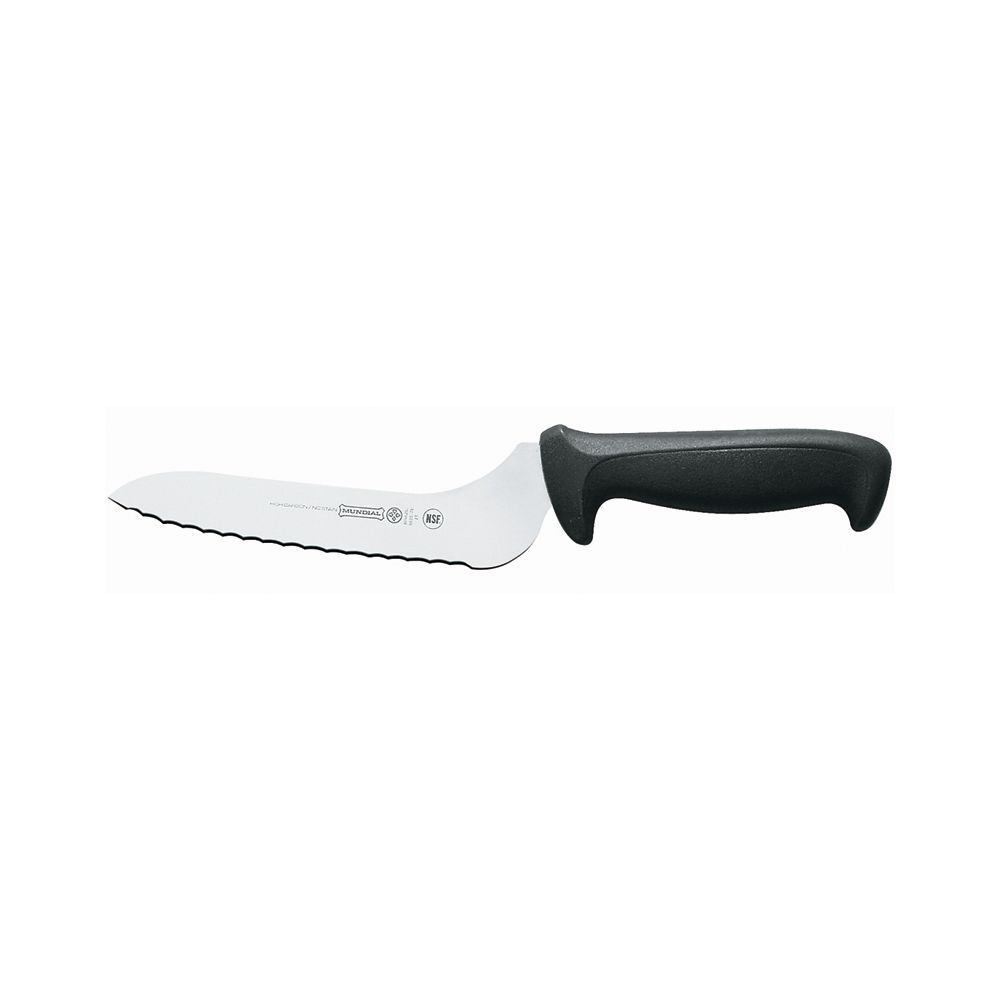 "Mundial Offset Serrated Sandwich Knife w/ Black Handle - 9"" at Sears.com"
