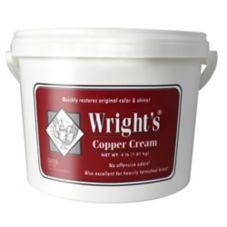 Wright's 321 4 Pound Tub Copper Cream Polish Cleaner - 4 / CS