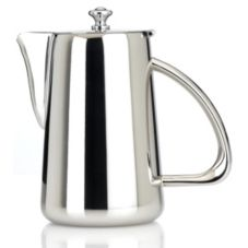 Steelite 5350S123 Worthy, Noble & Kent Kamina 53.5 Oz Coffee Pot