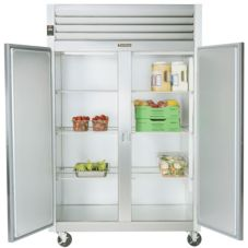 Traulsen G20001 G-Series Solid Door 2-Section Reach-In Refrigerator