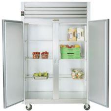 Traulsen G20001 G-Series Solid Door 2-Section Reach-In Refrigerator