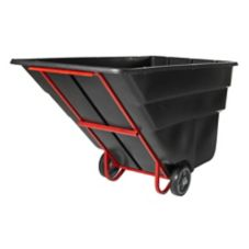 Rubbermaid® FG103500BLA Black Standard Duty 2 cu yd Tilt Truck