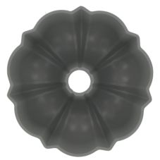Focus Foodservice Cast Aluminum 6-Cup Fluted Cake Pan