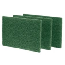 Green Scouring Pad, 10/Box