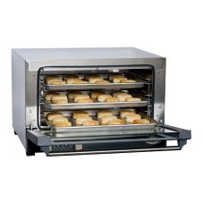 Cadco OV-013 Half-Size Convection Oven with Three Shelves