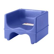 Cambro 200BC186 Navy Blue Dual Booster Seat with No Strap - 4 / CS