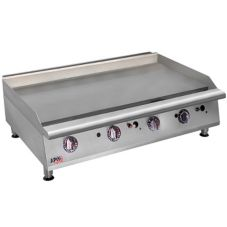 "APW Wyott 48"" Heavy Duty Cookline Manual Gas Griddle, HMG-2448"